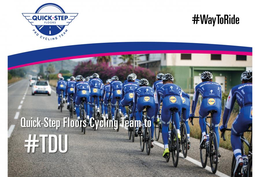 Quick step floors cycling team to tour down under bikenews for Quick step floors cycling team