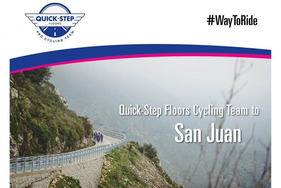 Quick step floors cycling team to vuelta a san juan bikenews for Quick step floors cycling team
